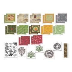 印度之旅剪贴簿制作套件