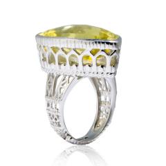 Chateau柠檬晶戒指