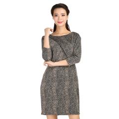 TianaB纽约时尚豹纹女裙 货号112864