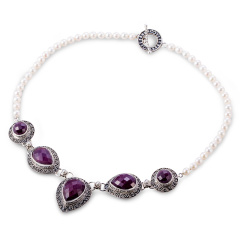 soni红宝石项链 货号113591