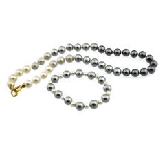 繁诺贝宝珠(黑色)渐变款项链 货号113799