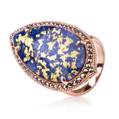 MARC蓝色炫彩戒指