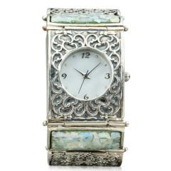Zuman玻璃手镯款手表