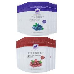 乾润蓝梅果干+蔓越莓干套组 货号115594