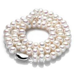 """菲润""""简心""""高档天然珍珠项链 货号116162"""