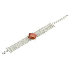 AN.艺术款红玛瑙手链 货号116350