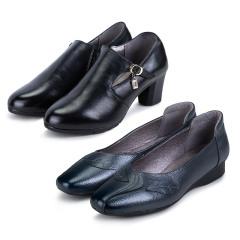 KL&VK女士经典款头层牛皮鞋  货号120764