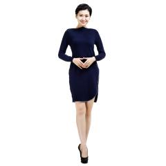 CELLE西琳时尚修身针织连衣裙  货号121124