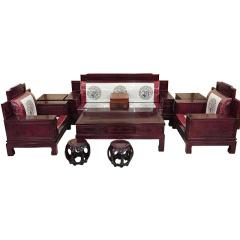 世锦豪庭红木大全套立减买赠组 货号121888