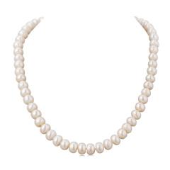 水年华经典永恒珍珠项链 货号122678