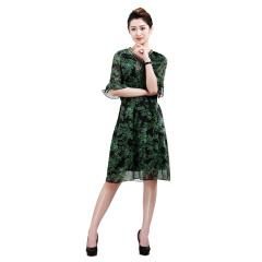 DS琪丝花式连衣裙
