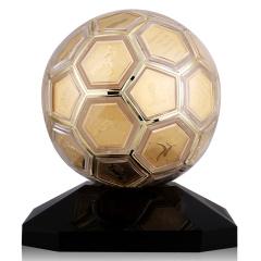 世界杯冠军异形纪念章金球 货号123302