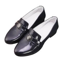 哥奢漆皮时尚女鞋套组
