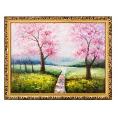 黄信驹《春暖人间》油画珍藏