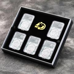 2022年熊猫银币首日认证版