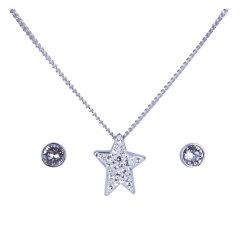 施华洛世奇Swarovski女士星星密镶水晶项链套装5031325