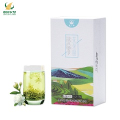 【中国农垦】 广西大明山 浓香型特级茉莉花茶 山水系列花茶45g(3gX15包)