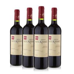 法国原瓶进口干红葡萄酒 卡奈城堡750ml*4瓶