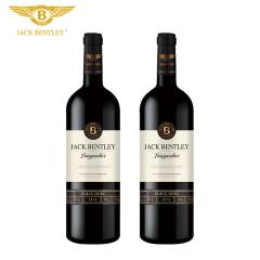 宾利爵卡黑爵干红葡萄酒法国原瓶进口双支礼盒装