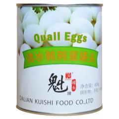 剥皮鹌鹑蛋出口日本孕妇儿童健康食品 820克*2罐
