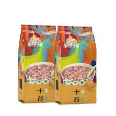 美农美季 东北杂粮大米精选十谷米粥米组合1kg*2袋