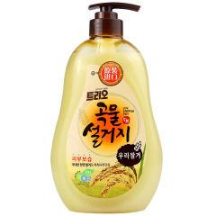 韩国原装进口爱敬谷物洗涤剂3瓶装