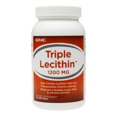 美国健安喜GNCTripel Lecithin卵磷脂1200mg×180粒