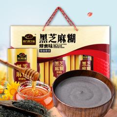 南方黑芝麻 黑芝麻糊礼盒装 蜂蜜味/无糖味可选 720g/盒 蜂蜜味礼盒