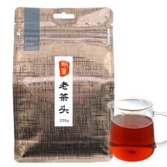 瓯叶普洱茶 熟茶老茶头 古树醇香散茶 云南茶叶 干仓存放 250g