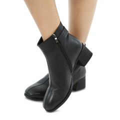 ITERMAN意尔曼舒软牛皮女靴