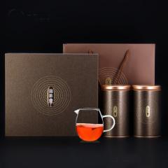 瓯叶 简朴系列 云南普洱茶 熟茶散茶 普洱熟茶 200g 礼盒装