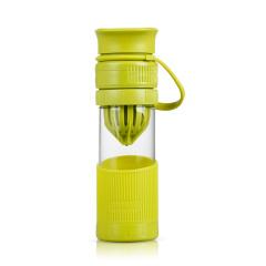 SIMELO施美乐首尔风情维利亚果汁养生杯玻璃柠檬杯手动榨汁杯耐热泡茶杯