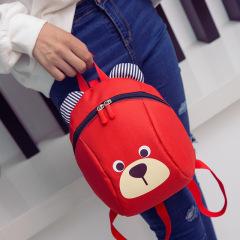 新款小熊防走丢儿童书包 小学生双肩背包 韩版卡通幼儿园书包