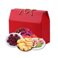 边走边淘 美味水果脆片礼盒(5种) 包邮