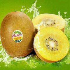 【进口水果】 新西兰进口黄心奇异果(佳沛金果)6粒装(单果110-120g)