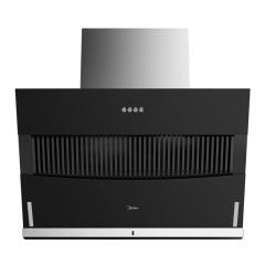 美的(Midea)CXW-200-B61A 大面板直吸直排 按键式侧吸油烟机