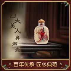 中艺盛嘉 王习三 内画收藏品 福禄寿喜四大美人鼻烟壶