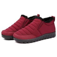 保暖棉鞋软底防滑防水老北京棉鞋二棉妈妈鞋