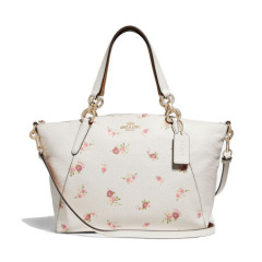 COACH SMALL KELSEY SATCHEL WITH DAISY...