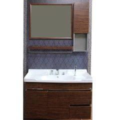 诺肯木纹0.8米浴室柜套组  货号119057