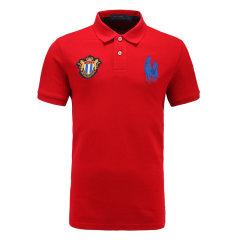 皇家棕榈马球俱乐部 男短袖商务休闲POLO衫翻领男士T恤13528102