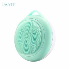 imate洗脸仪硅胶去黑头电动洁面仪毛孔清洁器脸部洗面仪洗脸器粉色和蓝色m-1010