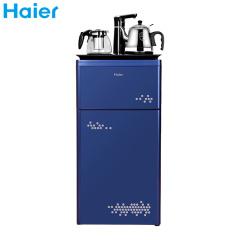 海尔茶吧机YR1683-CB(蓝)下置式水桶微电脑控制加热保温取水多功能选择