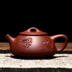 千寿堂 紫砂壶茶具功夫茶宜兴全手工石瓢泡茶壶