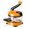美之扣手动绞肉机绞菜机家用手摇粉碎机器包饺子机手动碎菜绞菜料理器家用多功能切菜器 中国红1.5L