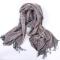 丁摩 SSYAOGE 羊毛巴巴格流苏保暖围巾W1702