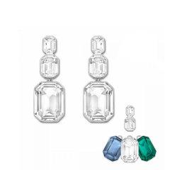 施华洛世奇Swarovski女士三色人造水晶耳钉5043653