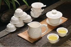 中国白雕龙茶具套组
