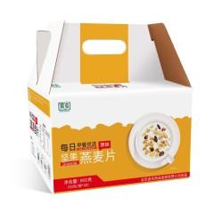 首农京乡即食坚果燕麦片礼盒 900g(30g*30袋)