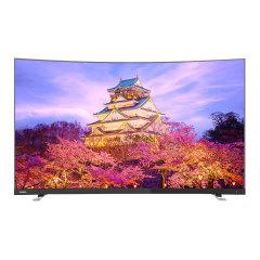 东芝65英寸4K曲面语音智能电视